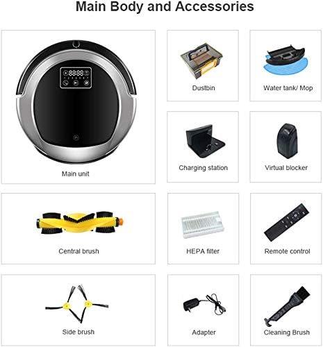 Zixin Aspirador robótico Mapa giroscopio de navegación, con la ...