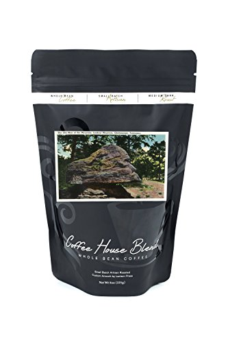 Lookout Mountain, Tennessee - View of the Old Man of the Mountain Rock Formation (8oz Whole Bean Small Batch Artisan Coffee - Bold & Strong Medium Dark Roast w/ - Look Male Retro