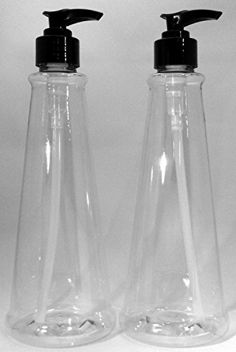 (2 pack) Earth's Essentials Versatile 16 Ounce Refillable Pump Bottles. Excellent liquid hand soap dispenser. Great for dispensing homemade lotions, shampoos and massage oils.