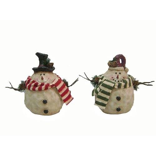 Vintage Snowman Figurines Amazon