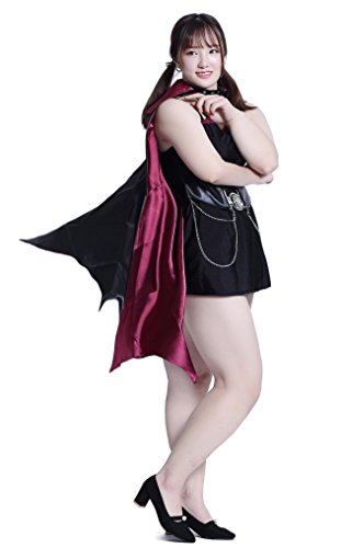 Plus Size Vampiress Halloween Costumes (Cosplayers Tokyo Halloween Cosplay Japan Costumes [Plus Size] Anime Big Uniforms (3X, Gothic Vampiress))