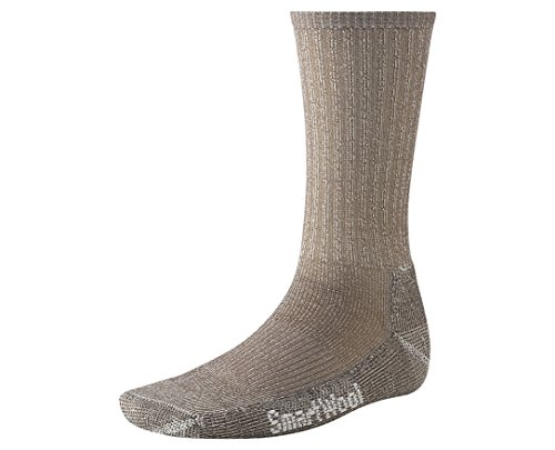 Smartwool Men's Hike Light Crew Socks (Taupe) Large