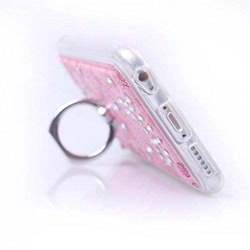 """iPhone 6 / 6S ( 4.7"""" ) Hülle, Apple iPhone 6 / 6S ( 4.7"""" ) Hülle Lifetrust®[ Rosa ] Schutzhülle Flip PU Ledertasche Ständer Schutzhülle Tasche Hülle Case Cover mit Kreditkartensteckplätze für Apple iP"""