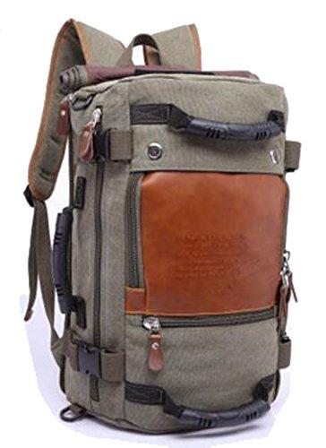 Generic - Bolso al hombro para hombre marrón marrón verde