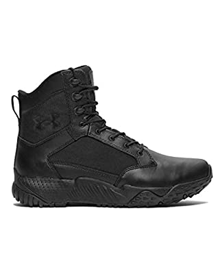 Under Armour Men's Under Armour Men's Stellar Tactical Boots Boot, black/black, 9.5 Medium US