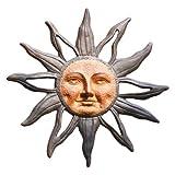 SPI Home 32419 Sun Face Wall Plaque