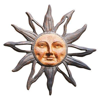 Sun Face Wall Decor - SPI Home 32419 Sun Face Wall Plaque