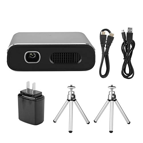 BTIHCEUOT Mini Video Projector,DLP HD LED Portable Projector Home Fit for Android 110-240V(US Plug) from BTIHCEUOT