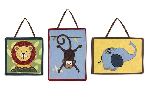 - Jungle Time Wall Hanging Accessories by Sweet JoJo Designs