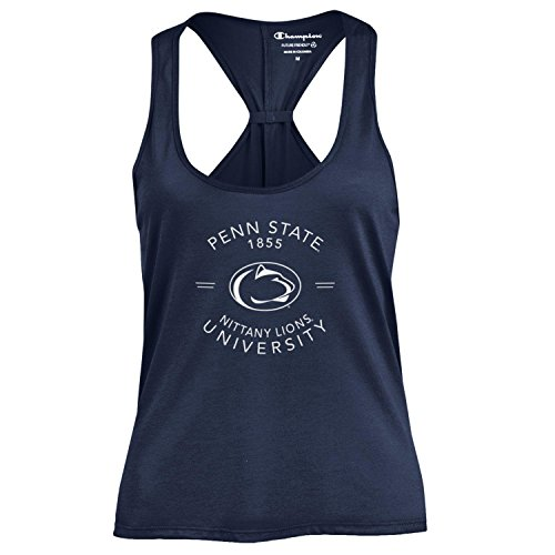 Champion NCAA Women's Swing Silouette Racer Back Tank Top, Penn State Nittany Lions, X-Small