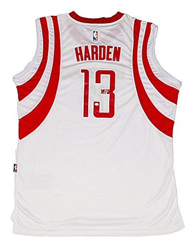 ... Steve Francis Near MintMint AUTOGRAPHED 2016 James Harden 13 Houston  Rockets Basketball WHITE HOME JERSEY Rare Signed Adidas Swingman Authentic  NBA ... 7110dc3d5