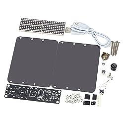 KKmoon DS3231 Creative DIY Dot Matrix LED Clock Kit Desktop Precise Electronic Digital Alarm Clock Temperature Display