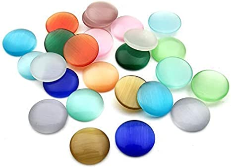 Mixed Colour Resin Oval Beads 12mm Jewellery Craft Beading O98 30 Pcs