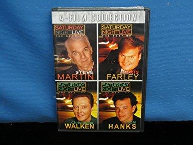 Saturday Night Live - Steve Martin, Chris Farley, Chris Walken, & Tom Hanks (Snl Best Of Chris Farley)