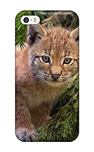 Tpu Case For Iphone 5/5s With Lynx Pictures