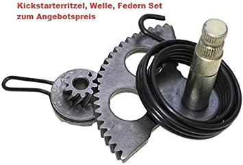 Kickstarter Reparatur Set Ritzel Welle Mitnehmer Feder für Yamaha Aerox