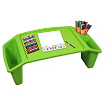 Kids Lap Desk Tray, Portable Activity Table (Green)