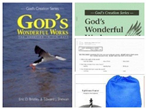 God's Wonderful Works Homeschool Kit in a Bag (Text, Teacher's Manual, Tests)