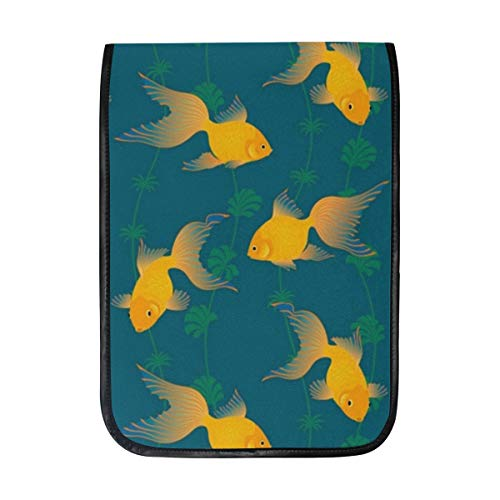 Goldfish Pattern Sleeve Case Compatible with iPad Pro 10.5/9.7 iPad Air/Samsung Galaxy Tab Case Sleeve Carrying Protector Bag