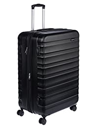 "AmazonBasics Hardside Luggage Spinner 28"", Black"