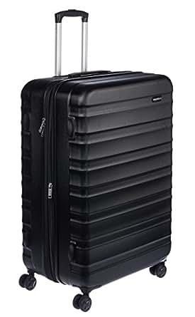 """AmazonBasics Hardside Spinner Luggage - 28"""", Black"""
