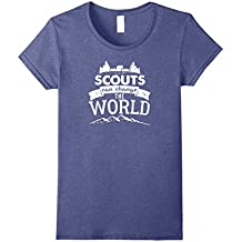 Scouts Can Change The World t-shirt -- Boy or Girl