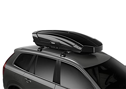 (Thule Motion XT Rooftop Cargo Carrier, Black, X-Large)