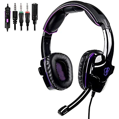 HDJX Headphones  high definition  head-mounted  noise reduction  heavy deep bass headphones  suitable for player games