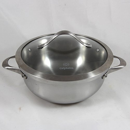 Calphalon Contemporary Stainless 3-quart Chefs Casserole