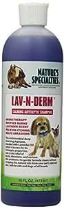 Nature's Specialties Lav-N-Derm Pet Shampoo, 16-Ounce