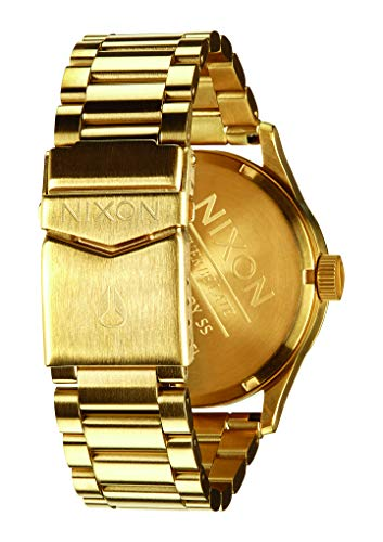Nixon Homme Analogique Quartz Montre avec Bracelet en Acier Inoxydable A356-1919-00