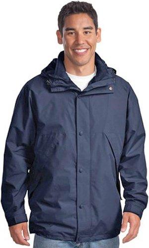 (Port Authority 3-in-1 Jacket-L (Navy/Navy))