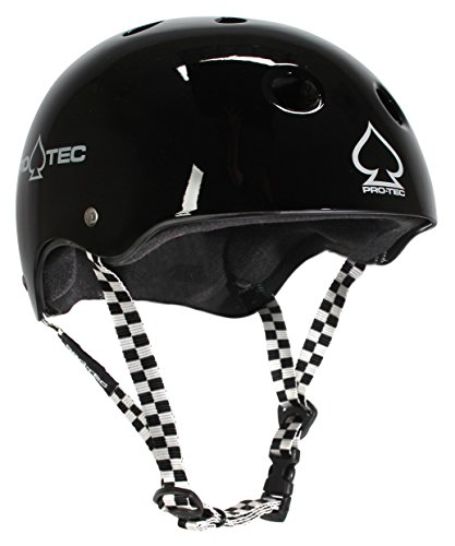 Pro-Tec Classic Skate Non-Certified Soft Foam Black Checker ()