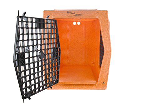 Ruff Tough Kennels Intermediate Double Door Side Right Hand Entry Kennel, Crate, Dog House, (L-30 1/2