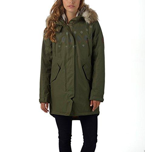 Olive Veste Segment Burtonwb Vert Xl Ski De Pour Femme P68Tqx8