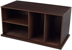 KidKraft Storage Unit With Shelves - Espresso