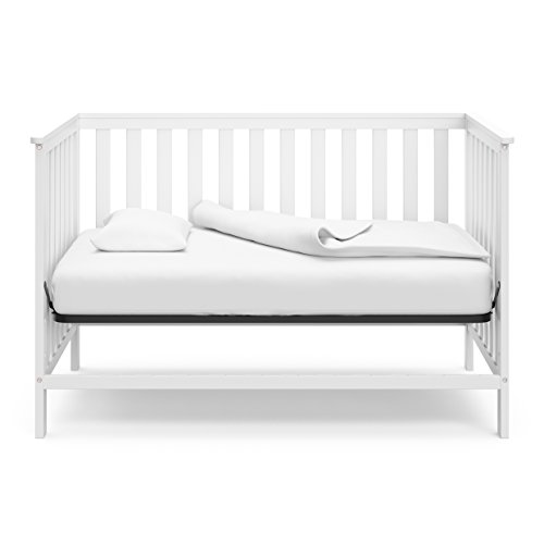 41jZpA0TM4L - Storkcraft Rosland 3-in-1 Convertible Crib - White