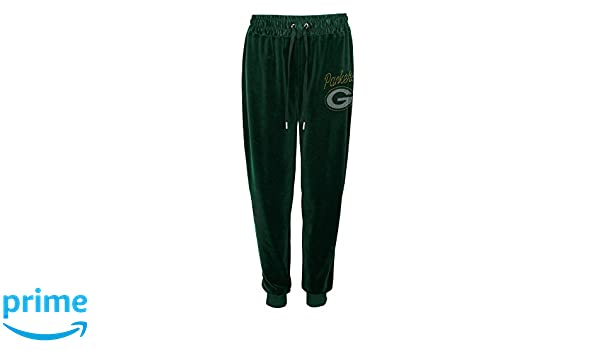 Outerstuff Womens Glitzy Kicker Velour Banded Pant