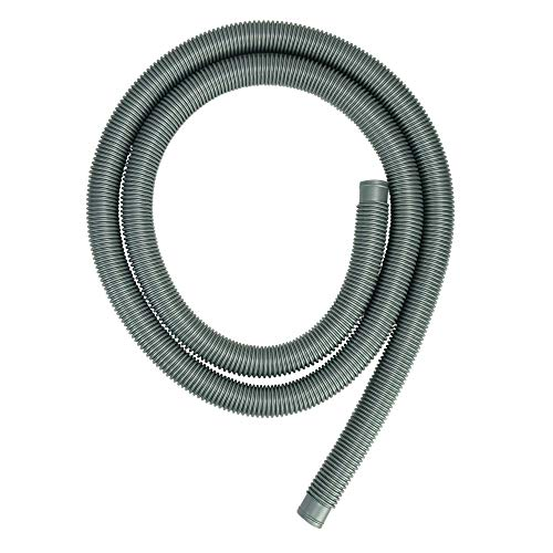 Northlight Gray Heavy-Duty Pool Filter Connect Hose 9' x 1.25