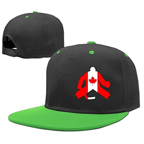 Goalie Boy Girls Hip Hop Caps Baseball RGFJJE Canadian Gorras Hat Flag béisbol nvPxqwxSZ