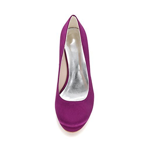 Colors L P YC Slope Party Purple amp; Customization Wedding Women'S Shoes With High 9140 Shoes 01 More Heels raSFrx