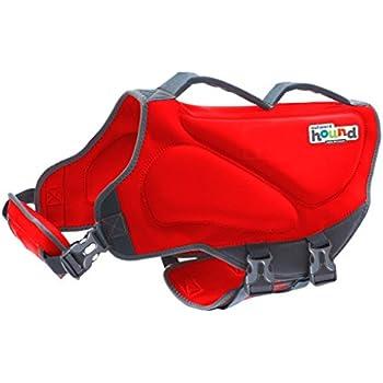 Outward Hound Dawson Dog Life Jacket, X-Large, Red