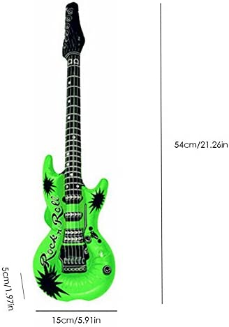 winnerruby 12PCS Conjunto de Guitarra Inflable Material Respetuoso ...