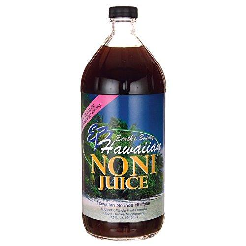 Hawaiian Noni Juice 32 fl Ounce (946 ml) - Noni Freeze Fruit Dried