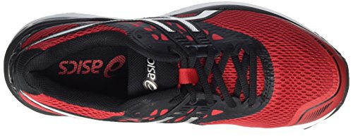 Rouge Classic de Red Running Chaussures Gel Noir 2393 Homme Black Asics 9 Pulse Silver awqZ8xz
