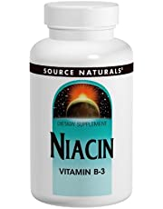 Source Naturals Niacin 100mg, 100 Tablets (Pack of 2)