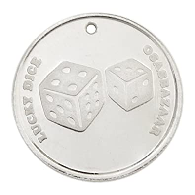 Osasbazaar Silver Lucky 7 Dice Coin - BIS Hallmarked with 99 9% Purity - 5  Gram