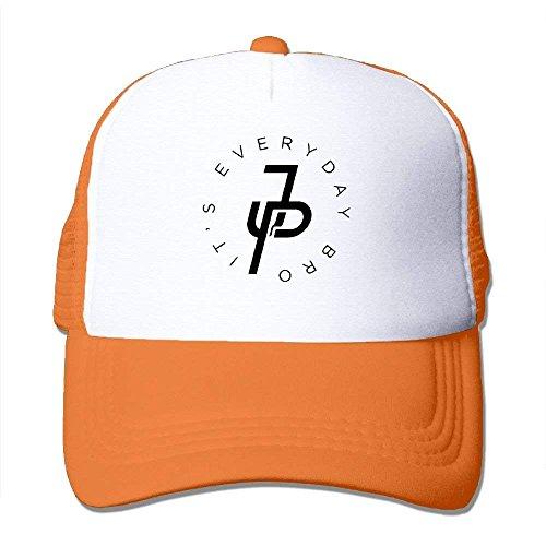 Béisbol Hombre para de única Naranja Talla Naranja Okhag Gorra RqgHwza