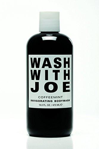 CoffeeMint - Coffee and Peppermint Body Wash for Women & Men - Vegan Body Wash, Paraben Free Body wash, Cruelty Free body Wash, (16 oz) - by Wash with Joe