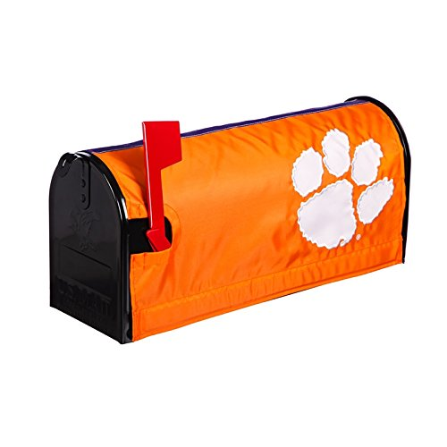 Mailbox Cover Team (Ashley Gifts Customizable Embroidered Applique fabric NACC Mailbox Cover, Clemson University)